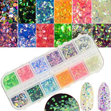 1 pcs Glitter Powder Nail DIY Tools Nail Jewelry Lovely / 3D nail art Manicure Pedicure Daily Glitters / Artistic / Fashionable Jewelry / Shimmering
