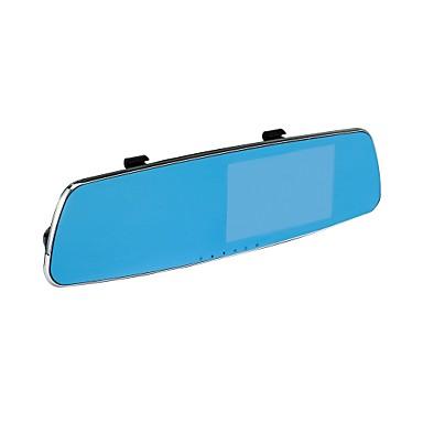 ZIQIAO ZIQIAO JL-X40 720p / 1080p Autós DVR 140 fok / 170 fok Nagylátószögű CMOS 5inch TFT Dash Cam val vel Késleltetés leállítása /