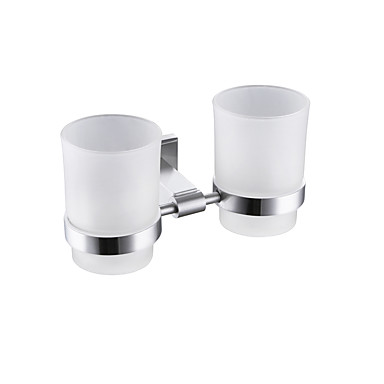 Toothbrush Holder Modern / Contemporary Stainless Steel 1 pc - Hotel bath