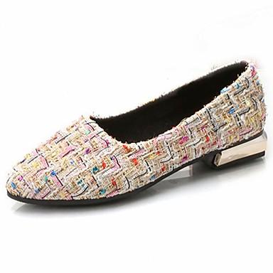 Confort 06297294 Beige Tacón Otoño Negro Dedo Sintético Bailarinas redondo Mujer Zapatos Bajo pUAqaa