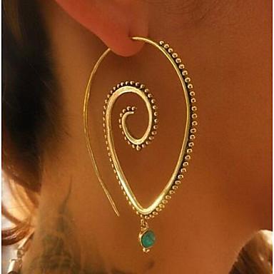Női Francia kapcsos fülbevalók - Nyilatkozat Arany / Ezüst Kompatibilitás Napi