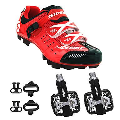 BOODUN/SIDEBIKE® Mountain Bike Shoes Cycling Shoes With Pedal & Cleat Men's Wearable Sporty Synthetic Microfiber PU EVA Mountain Cycling