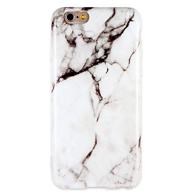 Case For Apple iPhone 7 / iPhone 7 Plus Shockproof / IMD Back Cover Marble Soft TPU for iPhone 7 Plus / iPhone 7 / iPhone 6s Plus