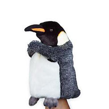 voordelige Marionetten-Vingerpoppetjes Poppen Handpop Pinguïn Dier Schattig Pluche Kinderen Volwassenen Speeltjes Geschenk