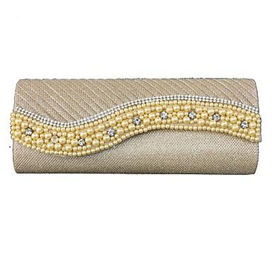 Women's Bags Denim Evening Bag Sequin / Ruffles Gold / Silver