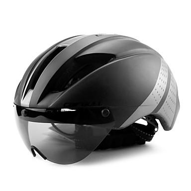 CAIRBULL Voksen sykkelhjelm Flyvehjelm 11 Ventiler CE EN 1077 Nedslags Resistent, Lettvekt EPS sport Veisykling / Fjellsykkel - Gul / Svart / Svart / Blå / Rød+Svart