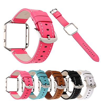 Watch Band for Fitbit Blaze Fitbit Classic Buckle Genuine Leather Wrist Strap