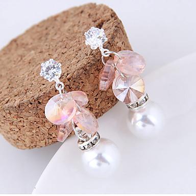 Women's Drop Earrings - Fashion Purple / Blue / Pink For Party
