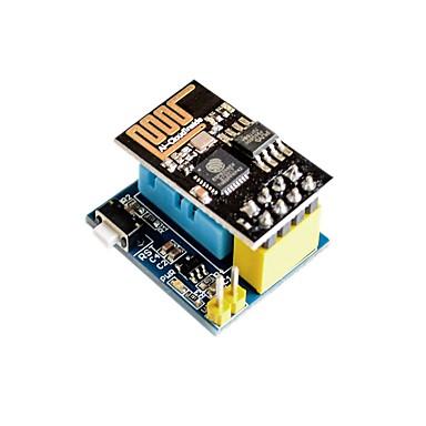 esp8266 esp-01 esp-01s dht11 hőmérséklet páratartalom A wifi csomópont modul vezeték nélküli modult tartalmaz