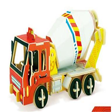 voordelige 3D-puzzels-RUOTAI 3D-puzzels Voertuigen Graafmachine Puinen 1 pcs Constructievoertuig Kinderen Volwassenen Speeltjes Geschenk