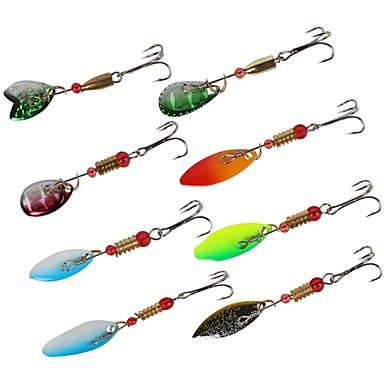 abordables Accessoires de pêche-8 pcs Accessoires de pêche g/Once mm pouce,Bronze