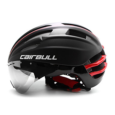 CAIRBULL Erwachsene Fahrradhelm Aero Helm 28 Öffnungen ASTM / ASTM F 2040 Stoßfest, Leichtes Gewicht, Einstellbare Passform EPS, PC Sport Straßenradfahren / Freizeit-Radfahren / Radsport / Fahhrad -