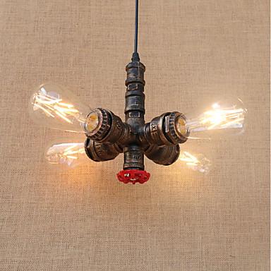 4-Light Pendant Light Ambient Light - Mini Style, Designers, 110-120V / 220-240V Bulb Not Included / 10-15㎡ / E26 / E27