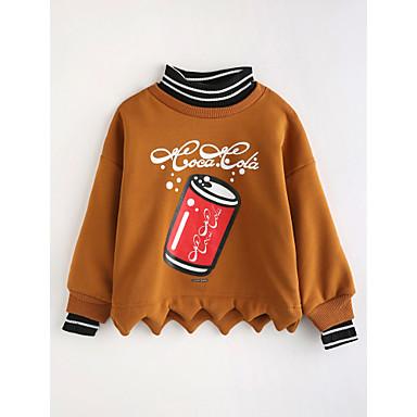 14bb6d69d Toddler Girls' Cartoon Long Sleeve Cotton Blouse Brown 6312575 2019 ...
