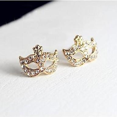 Női Szintetikus gyémánt Mértani Beszúrós fülbevalók - Strassz Klasszikus Arany Kompatibilitás Napi Színpad
