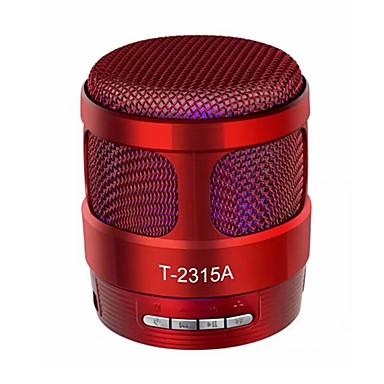T2315A Bluetooth 4.1 3,5 mm Głośnik półkowy Ciemnoniebieski / Czerwony / matowa czerń