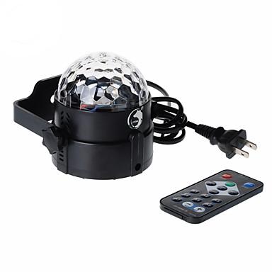 U'King Oświetlenie LED sceniczne Aktywowana Dźwiękiem Pilot zdalnego sterowania Aktywacja muzyką 6 na Do domu Klub Przenośny/a