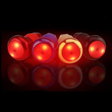 poświata światła rowerowe LED LED Kolarstwo Lśnienie / Wodoszczelny / Regulacja rozmiaru AG10 Lumenów AG10 Czerwony Kolarstwo