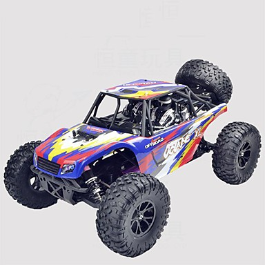 RC samochodów JJRC * Samochód Terenowy / Monster Truck Bigfoot / Samochód terenowy 1:10 Szczotkowy * KM / H Pilot zdalnego sterowania / Można ładować / Elektryczny