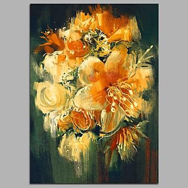 Hang-Malowane obraz olejny Ręcznie malowane - Martwa natura קלאסי Brezentowy