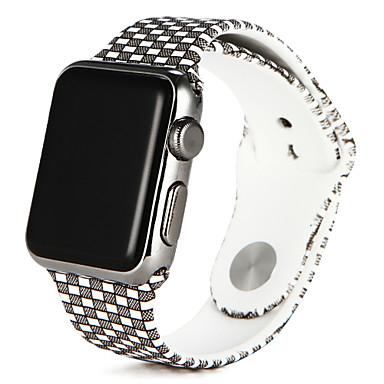 Pulseiras de Relógio para Apple Watch Series 4/3/2/1 Apple Pulseira Esportiva Silicone Tira de Pulso