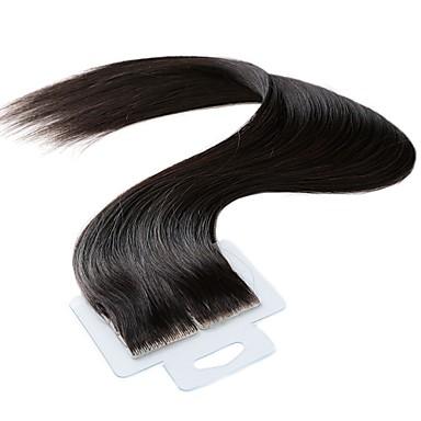 Tape In Ludzkich włosów rozszerzeniach Wysoka jakość Klasyczny Damskie Codzienny