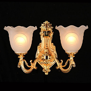 Traditionell-Klassisch Landhaus Stil Wandlampen Für Glas Wandleuchte 220v 25W