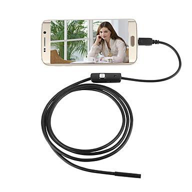 jingleszcn 7mm wodoodporna kamera USB endoskopowa android 5m twarde okablowanie inspekcyjne borescope wąż krzywka pc windows