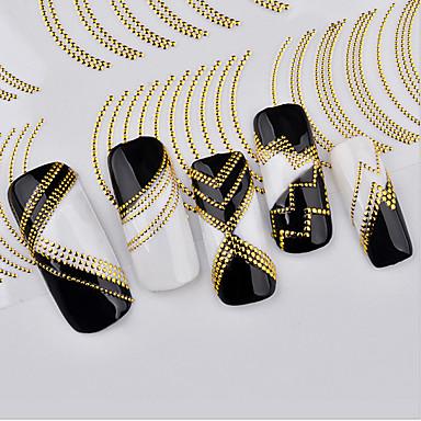 1 pcs Naklejki na paznokcie 3D Sztuka zdobienia paznokci Manikiur pedikiur Modny Codzienny / Naklejki 3D na paznokcie