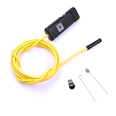 Bezprzewodowy hd usb endoskop 9mm obiektyw 2 m hardwire wifi kamera inspekcja borescope węża cam dla android ios pc
