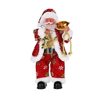 Weihnachts Geschenke Spielzeuge Santa Anzüge Urlaub Menschen Spritzig Elektrisch Urlaub Weicher Kunststoff Geflochtener Stoff Kinder