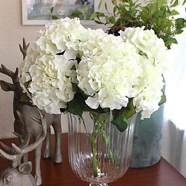 Sztuczne Kwiaty 1 Gałąź Europejskie Hortensje Bukiety na stół
