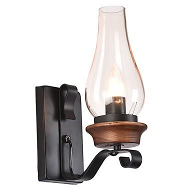 Wiejski / Modern / Contemporary Lampy ścienne Living Room / Domowy Metal Światło ścienne IP20 110-120V / 220-240V 60W