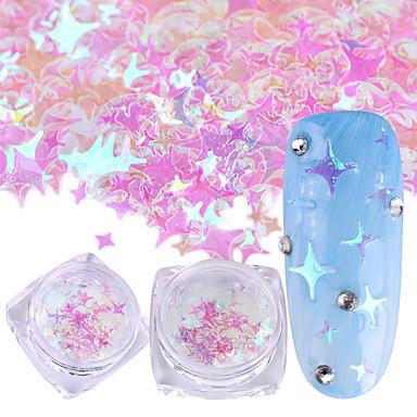 1szt Cekiny / Nail Glitter Elegant & Luxurious / Błyszczące Nail Art Design