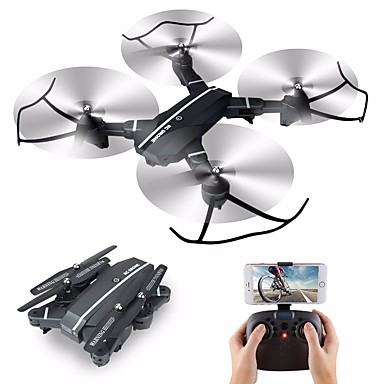 RC Drone 8807 4 Channel 6 Axis 2.4G With HD Camera 2.0MP 720P RC Quadcopter One Key To Auto-Return / Headless Mode / 360°Rolling RC