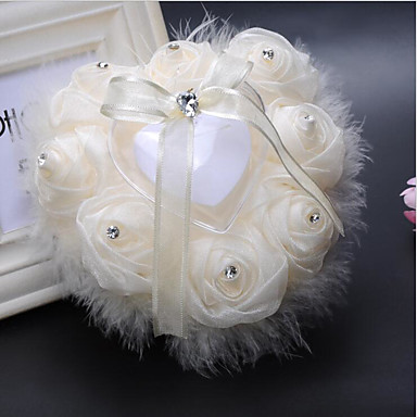 Zasznurować Inne Pillow Pierścień Motyw Garden Butterfly Theme Fairytale Theme Ślub Na każdy sezon