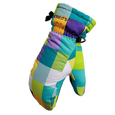 Rękawiczki zimowe Dla dzieci Full Finger Keep Warm Wodoodporny Poliester druku Narciarstwo Wspinaczka Zima