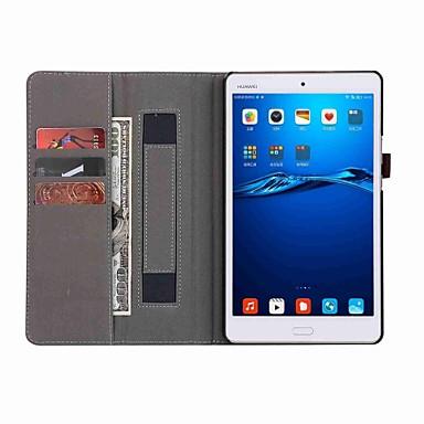 Kılıf Na Huawei MediaPad M3 Lite 8(CPN-W09, CPN-AL00 Pełne etui Solidne kolory Twardość Skóra PU na Huawei MediaPad M3 Lite 8(CPN-W09, CPN-AL00