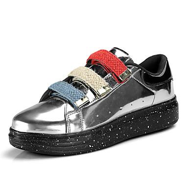 Męskie Buty Materiał do wyboru Jesień Comfort Tenisówki Black / Silver / Czerwony