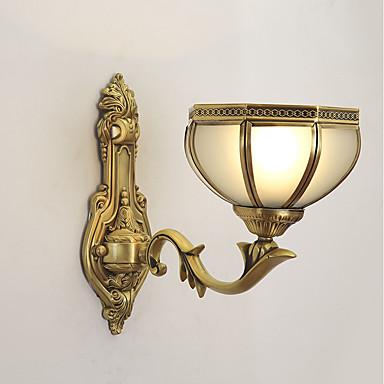 Modern / Contemporary Lampy ścienne Na Domowy Garaż Metal Światło ścienne 110-120V 220-240V 40W
