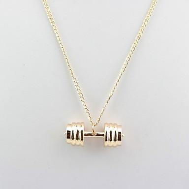 Damen Anhängerketten - Rockig, Hip-Hop Gold, Silber, Rotgold Modische Halsketten Für Geschenk, Alltag
