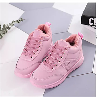 Damen Schuhe Stoff Sommer Sportschuhe Walking Flacher Absatz Runde Zehe Kombination für Schwarz Grün Rosa