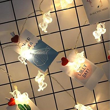 10 LED 1.5m Stern Licht wasserdichte Stecker im freien Urlaub Dekoration Licht LED String Licht