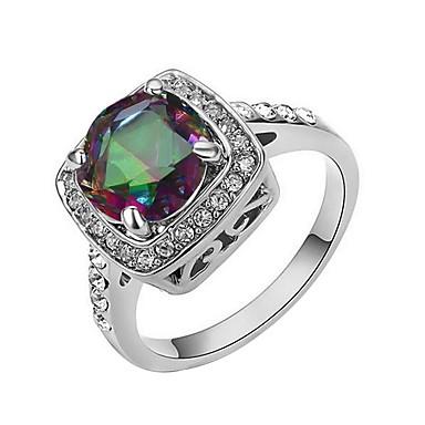 Damen Kristall vergoldet - Elegant Verschiedene Farben Ring Für Party / Geschenk