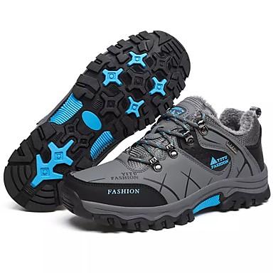 Hombre PU Primavera / Otoño Confort Zapatillas de deporte Senderismo Amarillo