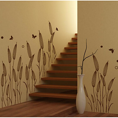 Botanical Wall Stickers Plane Wall Stickers Decorative Wall Stickers,Vinyl Material Home Decoration Wall Decal