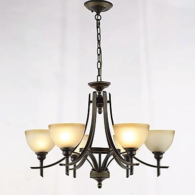 QINGMING® Żyrandole Oświetlenie od dołu (uplight) - Styl MIni, Retro / Vintage Kraj Tradycyjny / Classic, 110-120V 220-240V Nie zawiera