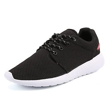 בגדי ריקוד גברים טול אביב / סתיו נוחות נעלי ספורט שחור / כחול