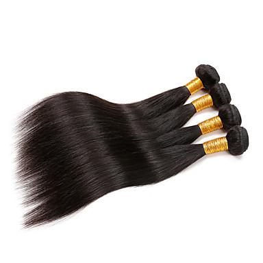 Włosy brazylijskie Włosy remy Prosto Ludzkie włosy wyplata 4 Człowieka splotów włosów
