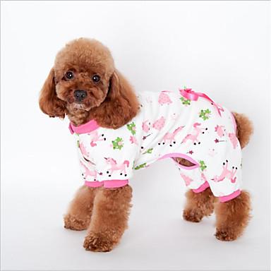 b6db21e4d911 Χαμηλού Κόστους Ρούχα για σκύλους-Γάτα Σκύλος Πουλόβερ Πυτζάμες Ρούχα για  σκύλους Ζώο Κίτρινο Μπλε